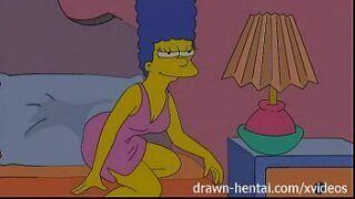 Simpsons hentai marge adora uma putaria